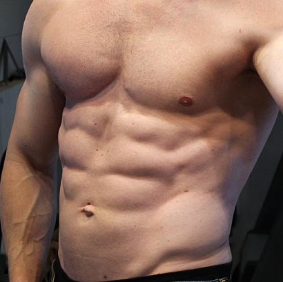 My abs after 8 weeks